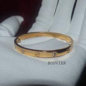 ⚡️FLASH SALE⚡️18K Gold Diamond Screw Bracelet